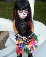 Dias De Los Muertos Homemade Costume
