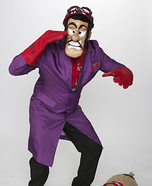 Dick Dastardly and Muttley Homemade Costume