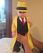 Dick Tracy Homemade Costume