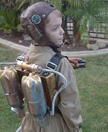 Dieselpunk Rocketeer Time Traveler Homemade Costume