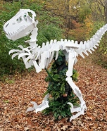 Dino Bones T-Rex Skeleton Homemade Costume