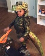 Dino Jordan Homemade Costume