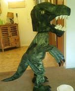 Dinosaur Homemade Costume