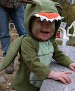 DIY Dinosaur Baby Costume
