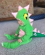 Dinosaur Baby Homemade Costume