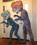 Couple of Dinosaurs Costume