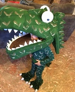 Dinosaur Hunter Homemade Costume