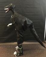 Dinosaur Velociraptor Homemade Costume