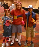 Dipper Pines, Mabel Pines and Star Butterfly Homemade Costume