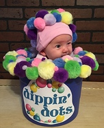 Dippin Dots Baby Homemade Costume