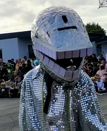 Disco Chomper Homemade Costume