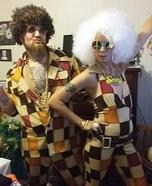 Disco Couple Homemade Costume