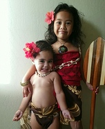 Disney Moana Homemade Costume