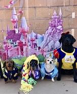 Disney Prince & Princesses Dogs Homemade Costume