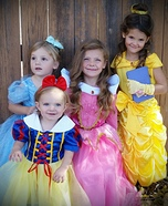 Disney Princesses Homemade Costume