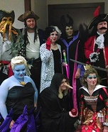 Group costume ideas - Disney Villains