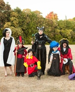 Disney Villains Family Homemade Costume