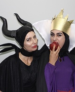 Disney Villains - The Evil Queen and Maleficent Homemade Costume