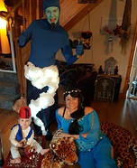 Disney's Aladdin Family Homemade Costume