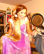 Disney's Rapunzel Homemade Costume