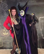 Disney's Sleeping Beauty Maleficent Homemade Costume