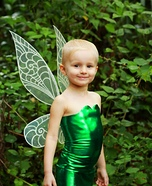 Disney's Tinkerbell Homemade Costume