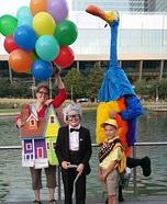 Disney's Up Family Homemade Costume