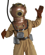 how to make a deep sea diver costume