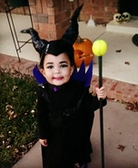 DIY Maleficent Baby Girl's Costume