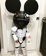DJ deadmaus Homemade Costume