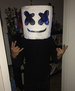 DJ Marshmello Homemade Costume