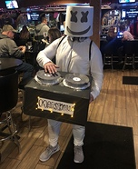 DJ Marshmello Homemade Costume