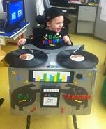 DJ Tanner Baby Homemade Costume