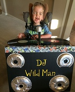 DJ Wild Man Homemade Costume