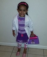 Doc McStuffins Homemade Costume