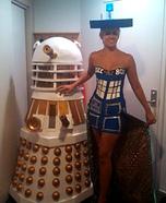 Tardis and Dalek Homemade Costumes