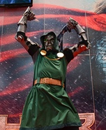 Doctor Doom Homemade Costume