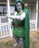 Doctor Doom Homemade Costume