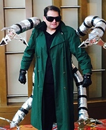 Doctor Octopus Homemade Costume