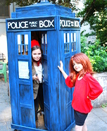Doctor Who and the Tardis Homemade Costumes