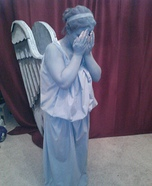 DIY Doctor Who Weeping Angel Costume