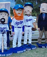 Dodgers Bobbleheads Homemade Costume