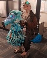 Dodo Bird and Rider Homemade Costume
