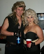 Dog and Beth Bounty Hunters Costumes