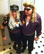 Dog and Beth Bounty Hunters Costume