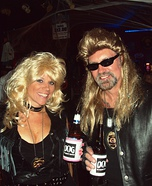 The Bounty Hunter Dog & Beth Halloween Costumes