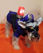 Dog Police Homemade Costume