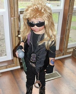 Cute baby costume ideas: Dog the Bounty Hunter Homemade Costume