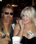 Dog the Bounty Hunter and Beth Homemade Costume
