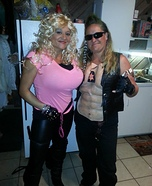 Dog the Bounty Hunter and wife Beth Homemade Costume